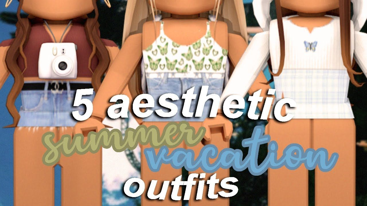 Aesthetic Roblox Outfits Free