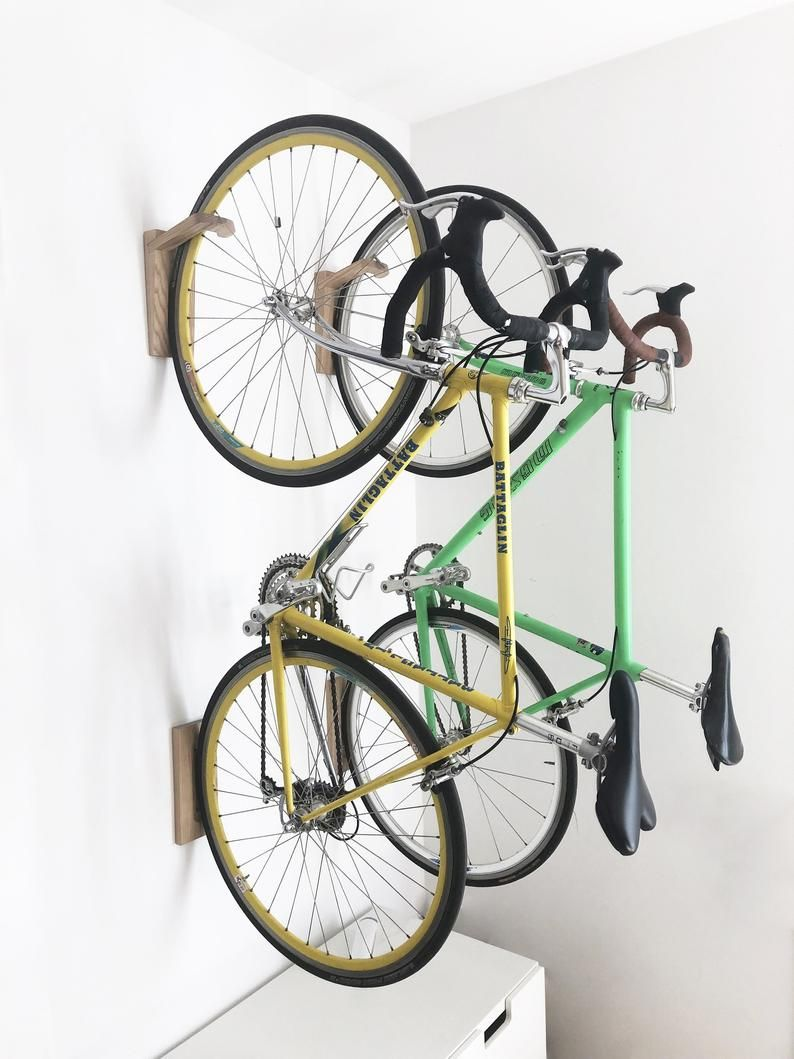 Tokyo Bike Rack Wall Mount Wooden Wall Hook Bike Storage Etsy Bike Rack Wall Bike Wall Mount Wall Mount Bike Rack