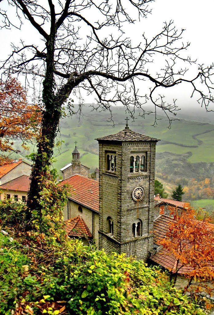 Piancaldoli, scorcio della chiesa parrocchiale,  Tuscany,  Italy, Florence
