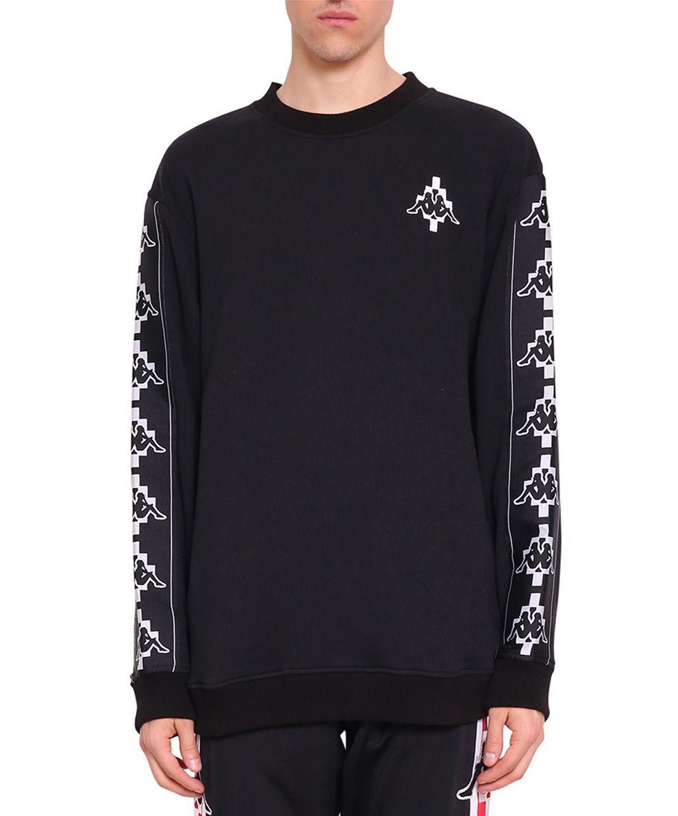 MARCELO BURLON COUNTY OF MILAN T-shirt en coton à jacquard logo Kappa Tapes WBBWflOR