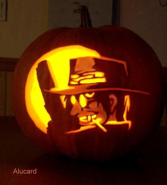 For Your Pumpkin Carving Needs Here Is A Library Of Anime Themed Stencils