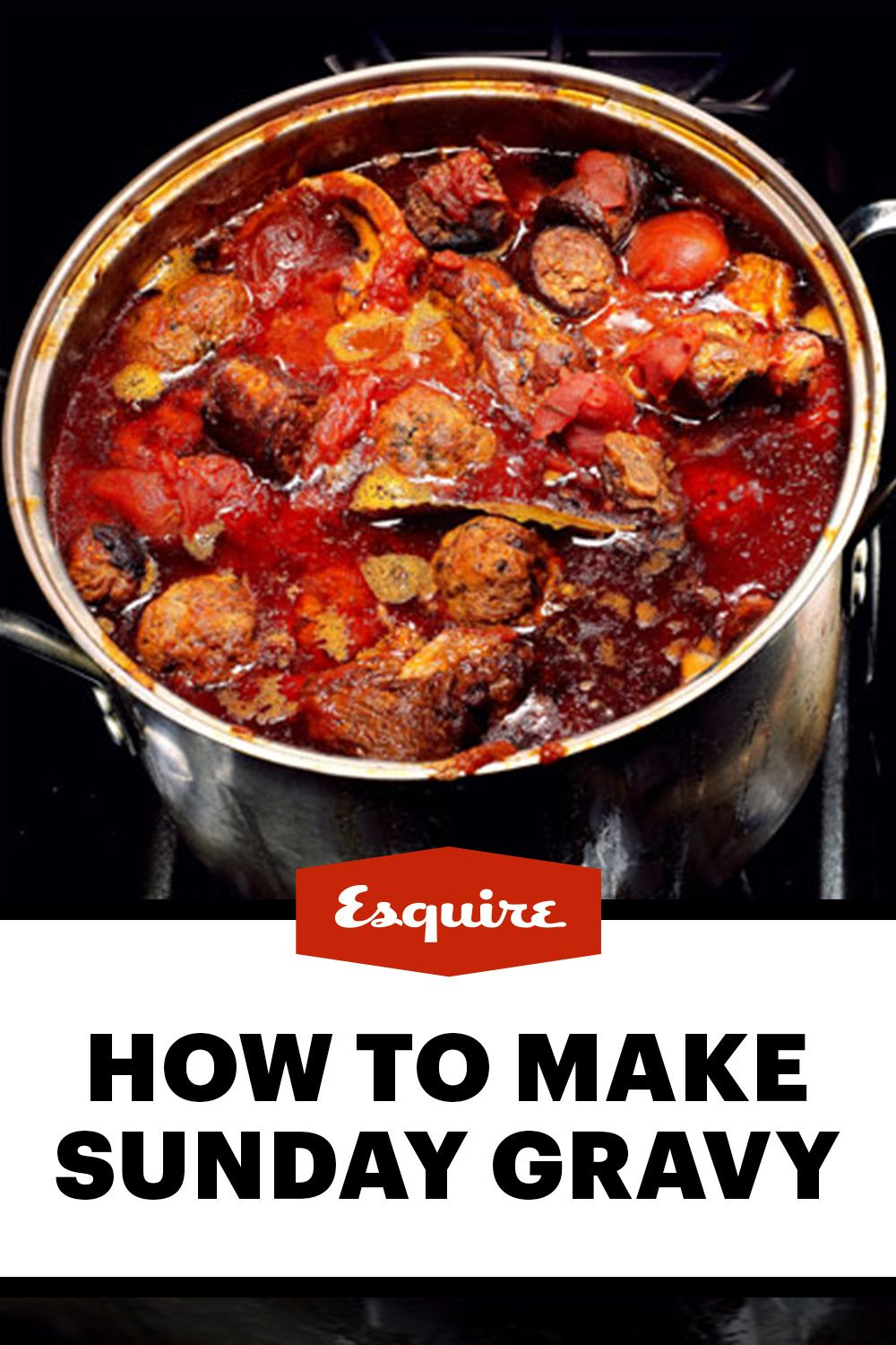 A sacred pasta sauce recipe for a sacred day born in the kitchen of an  Italian-American family.