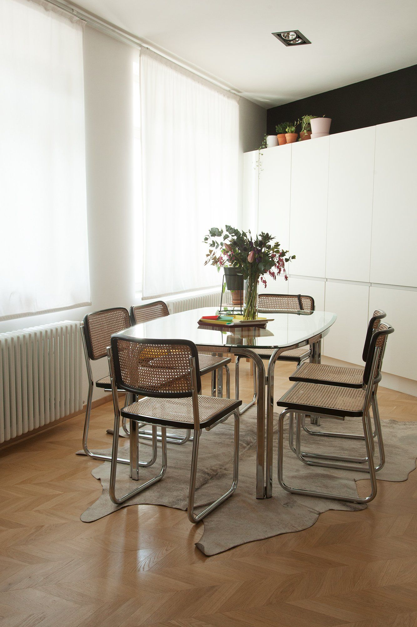 salle manger cesca architecte laura ruiz fernandez bruxelles