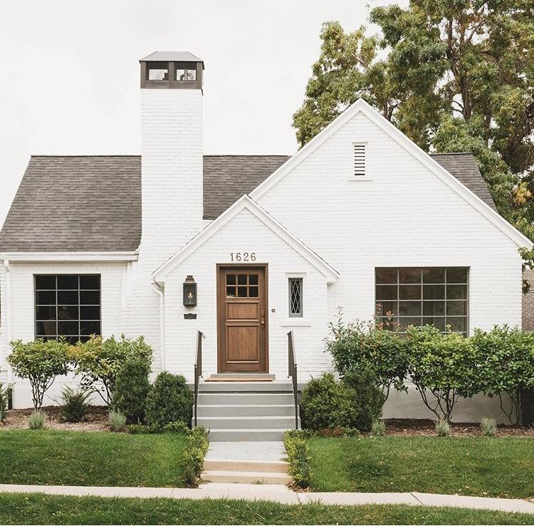 White cottage exterior images for Modern vintage home exterior