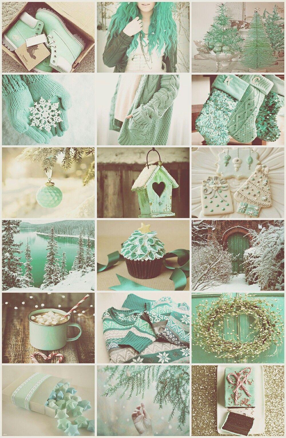 Christmas Aesthetic Wallpaper Green