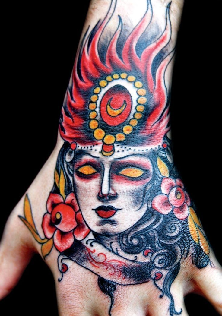 Eva huber tattood lifestyle magazine hand tattoos