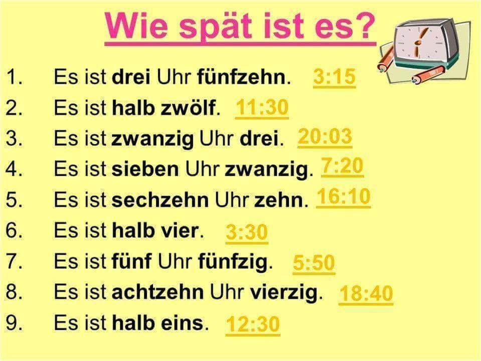 Wie Spät Ist Es Deutschland