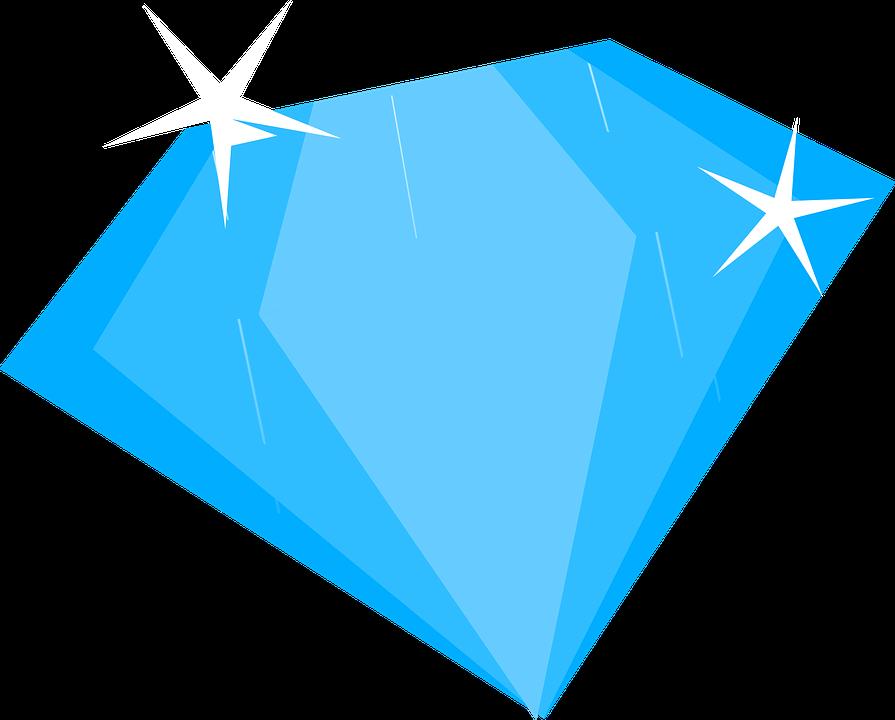 Brilliant Blue Diamond Blue Diamond Diamond Blue