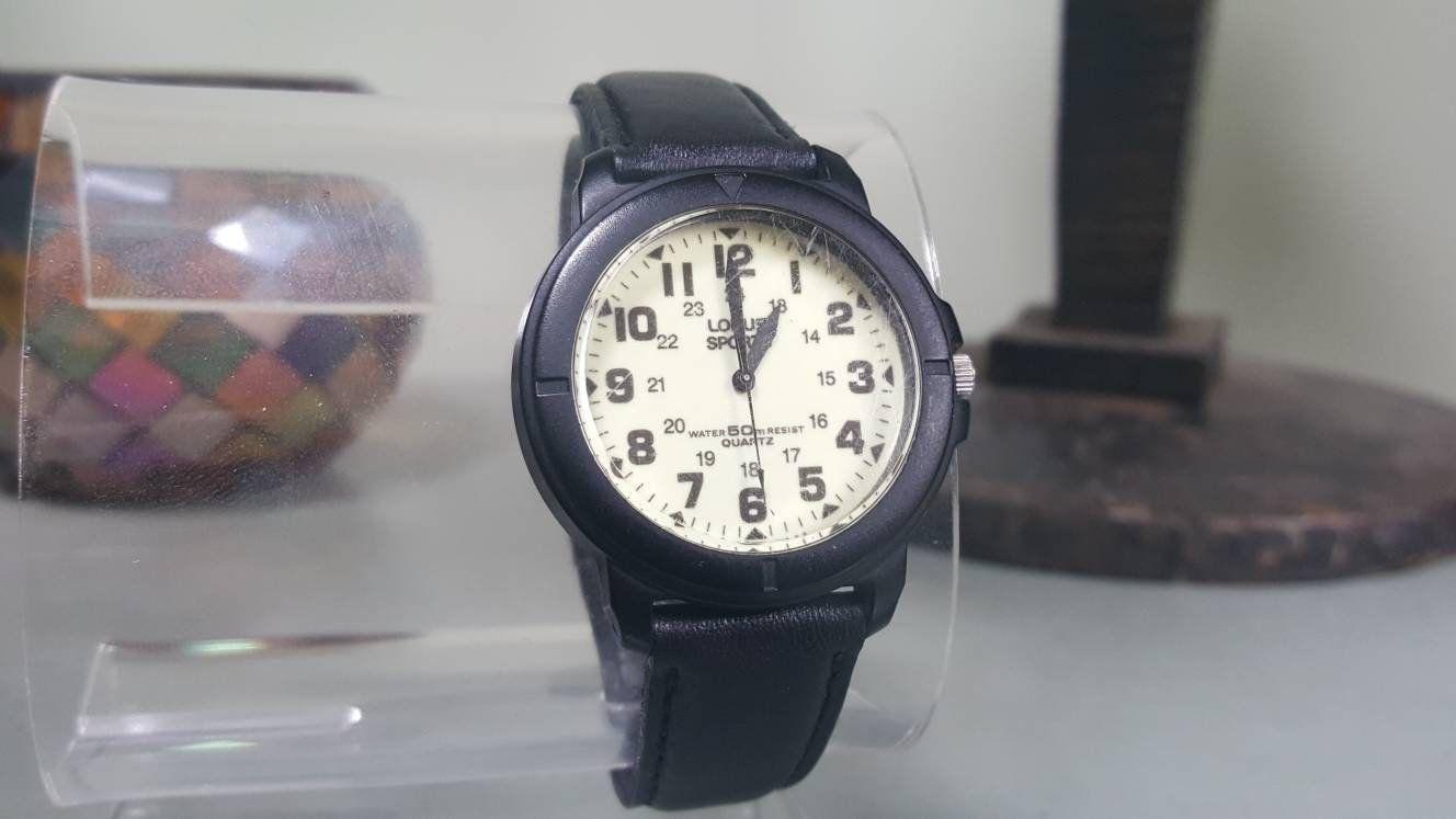 Lorus Sport Watch Mens Wrist Watch Unisex Wrist Watch Lorus Etsy Wristwatch Men Vintage Watches For Men Sport Watches