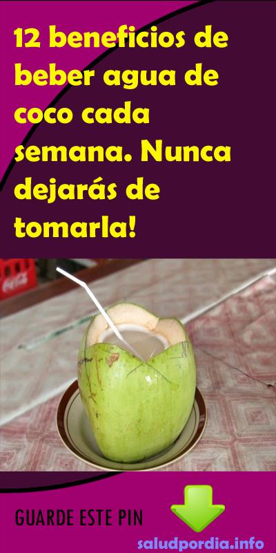 propiedades y beneficios agua de coco