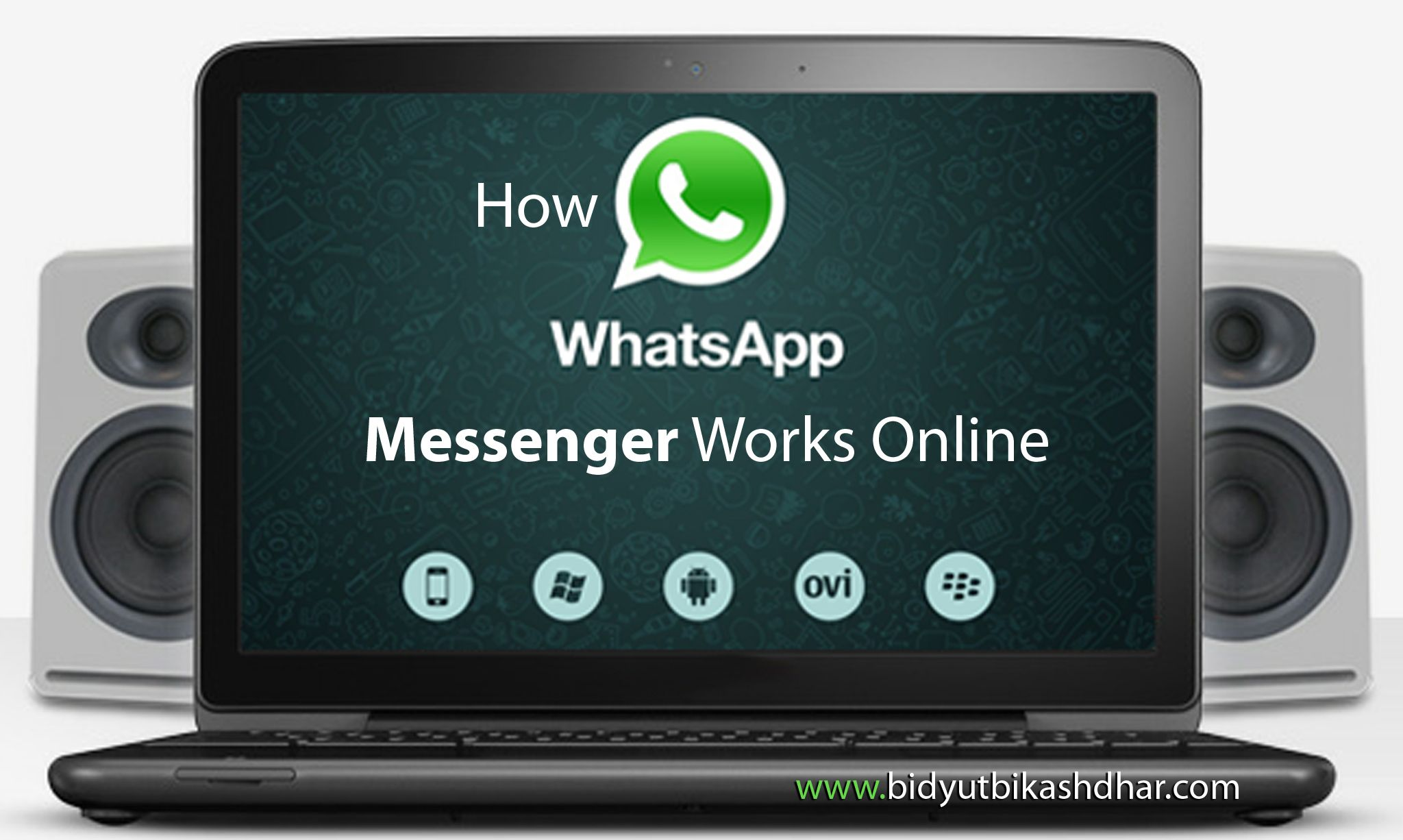 How WhatsApp Messenger Works Online