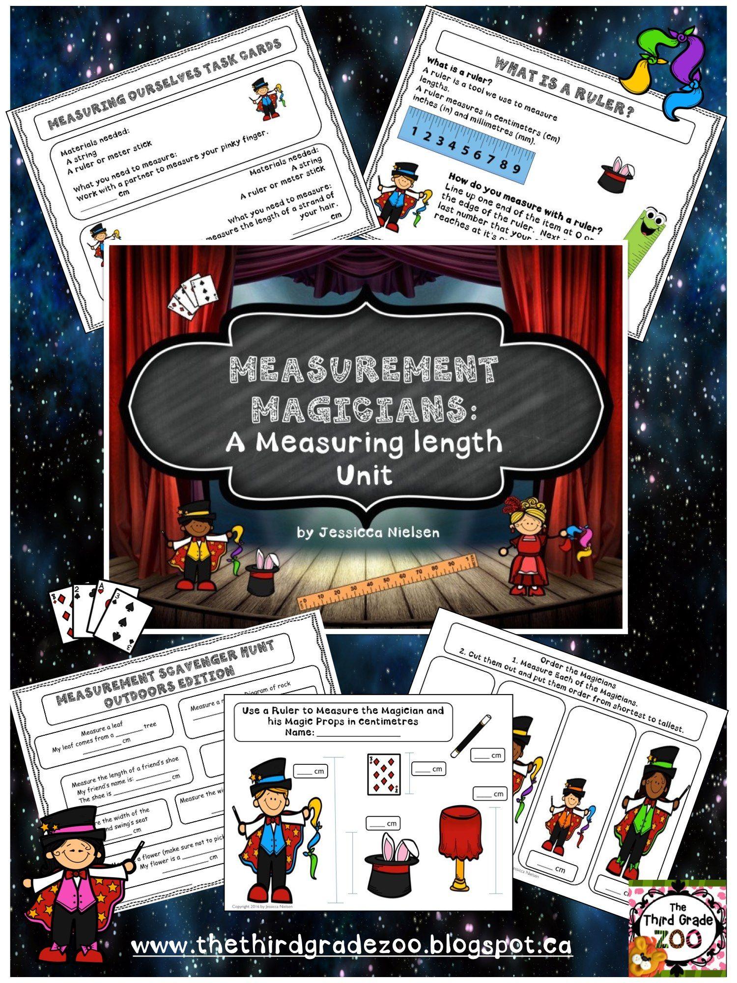 Measurement Magicians A Measuring Length Unit