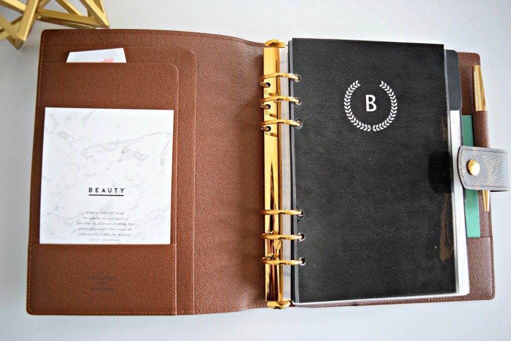 ffb74e70652 Louis Vuitton GM Agenda - The Bling Girl Diaries