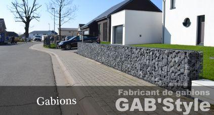 Gabstyle fabricant de gabions jardin pinterest for Amenagement exterieur belgique