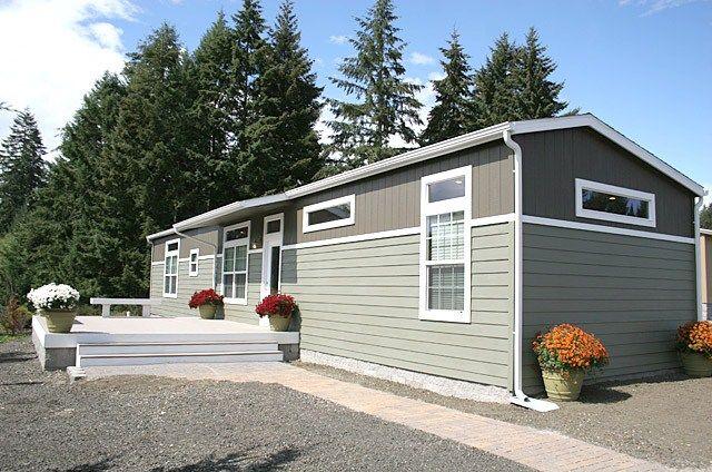 Exterior Of Clayton Homes E House Upward Mobility Mobile