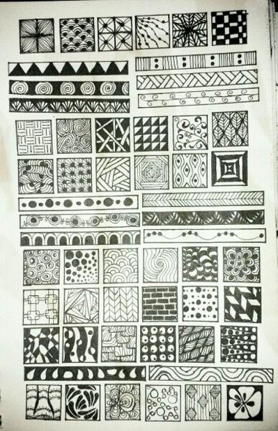 Zentangles Zentangle Patterns Tangle Art Doodle Patterns