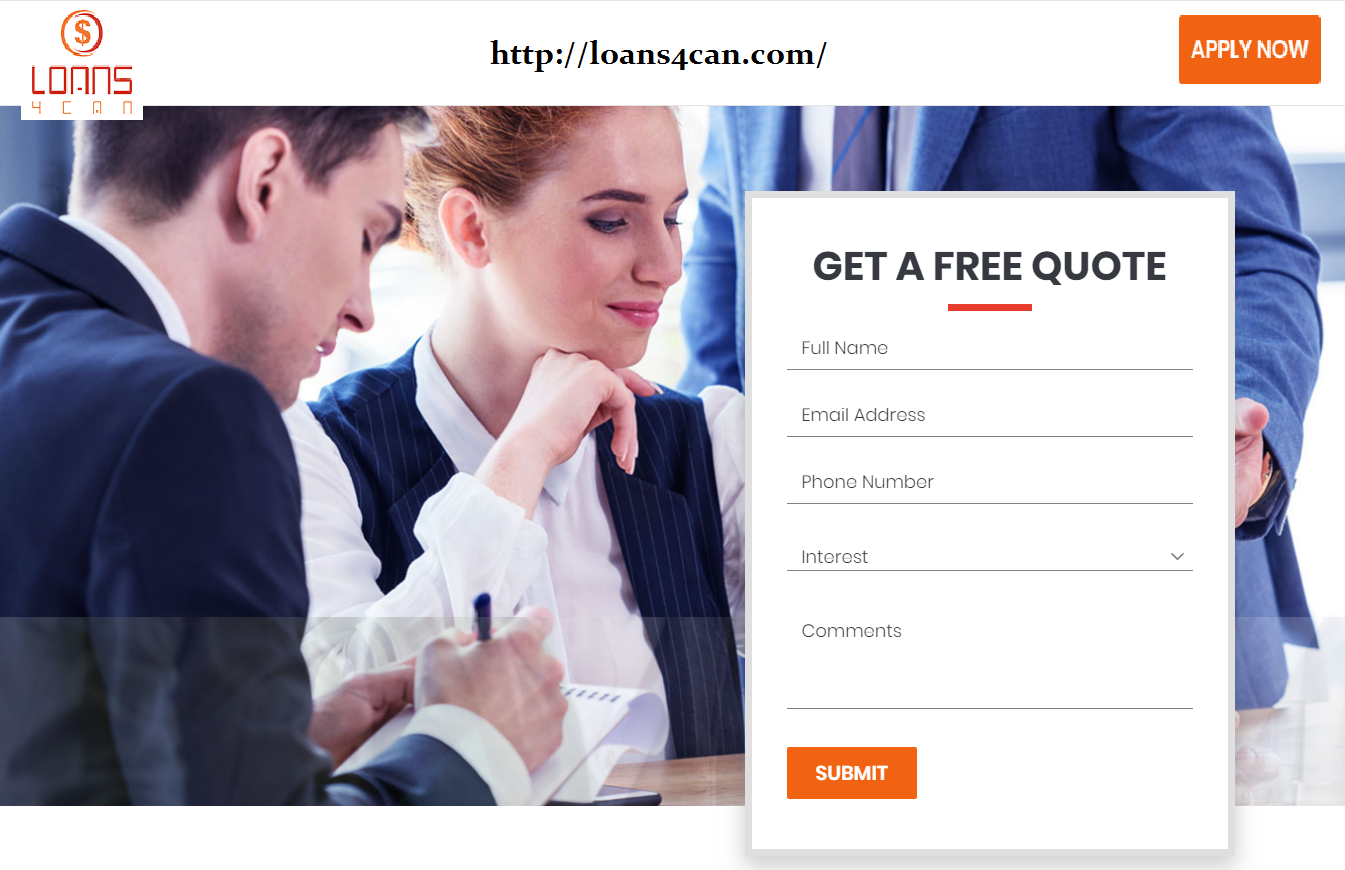 Get Loan In Canada Within Easy Steps Get A Free Quote Today Apply Now With Loans4can Com Loans Moneycredit Finance Free Quotes Quotes Finance