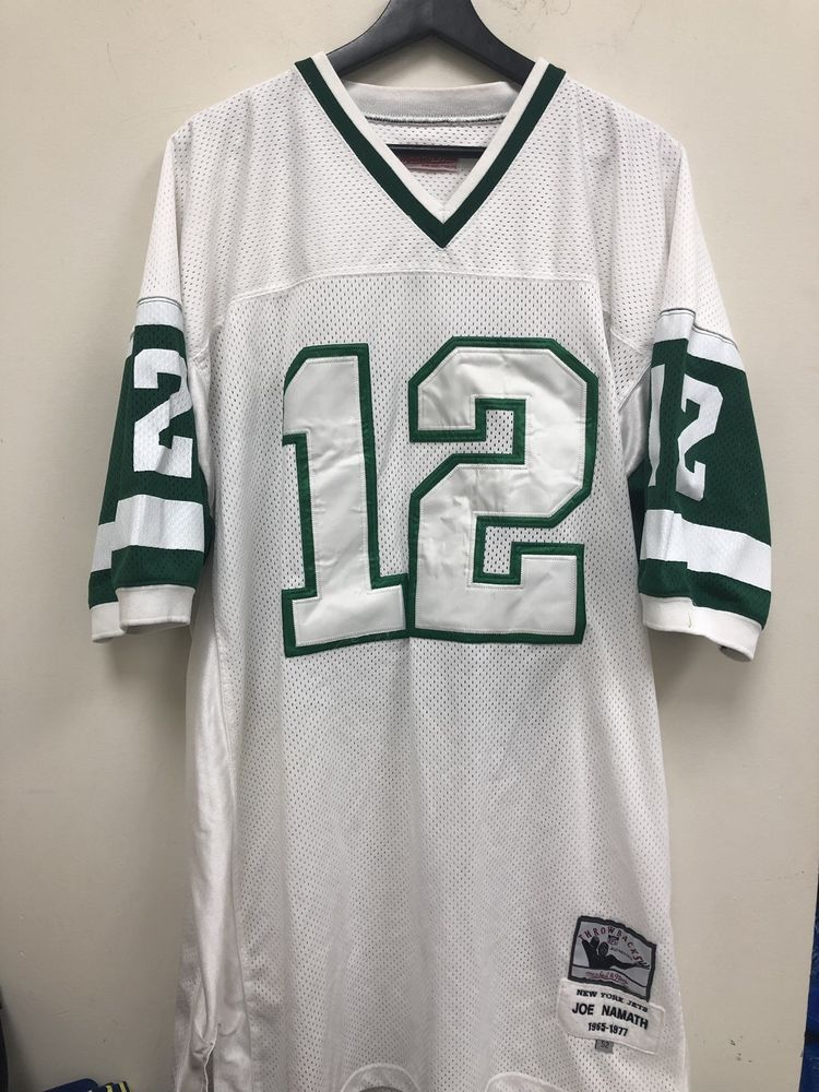 best sneakers 58c1f fd81c Mitchell And Ness Joe Namath Jets Jersey Size XXL in 2019 ...