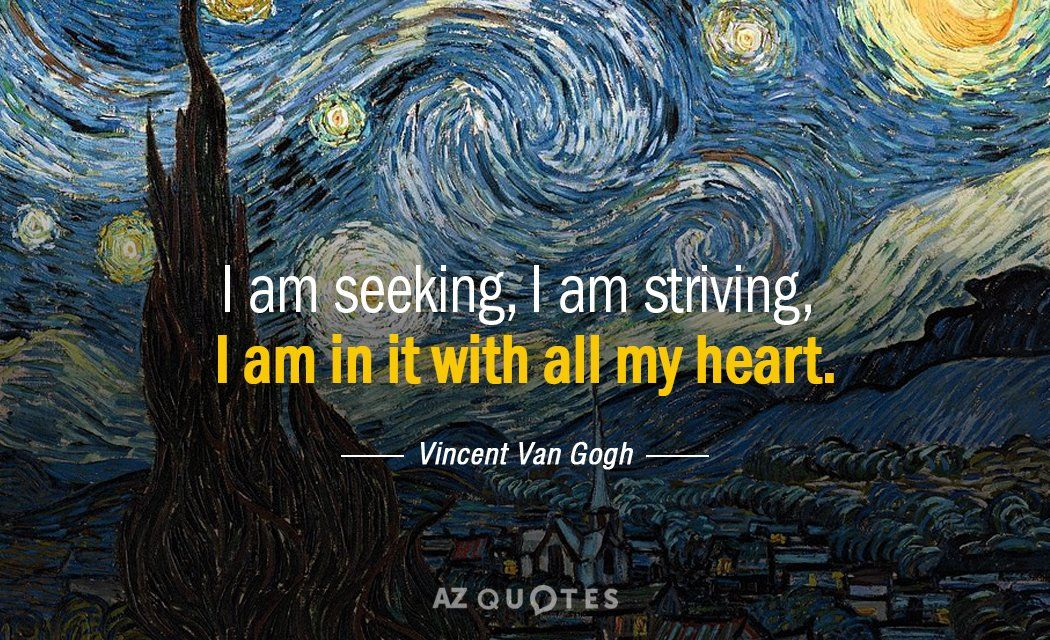 TOP 25 QUOTES BY VINCENT VAN GOGH (of 417) | A-Z Quotes