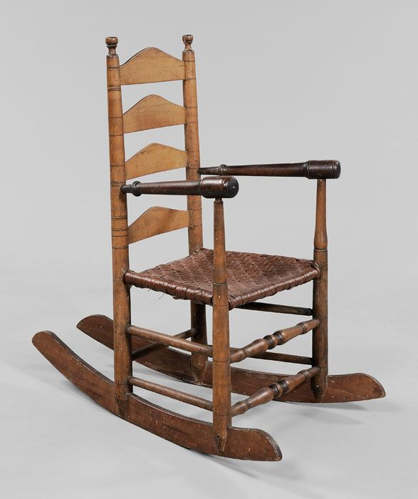 Terrific Early Southern Rocking Chair Attributed To Virginia Second Gmtry Best Dining Table And Chair Ideas Images Gmtryco
