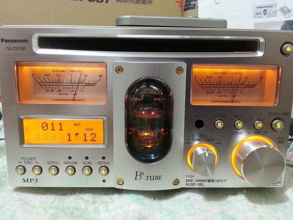 38070164e1f Raro Panasonic tx5500D E Fonte De Alimentação feita no Japão Rádio Carro  mp3 Tubo de vácuo