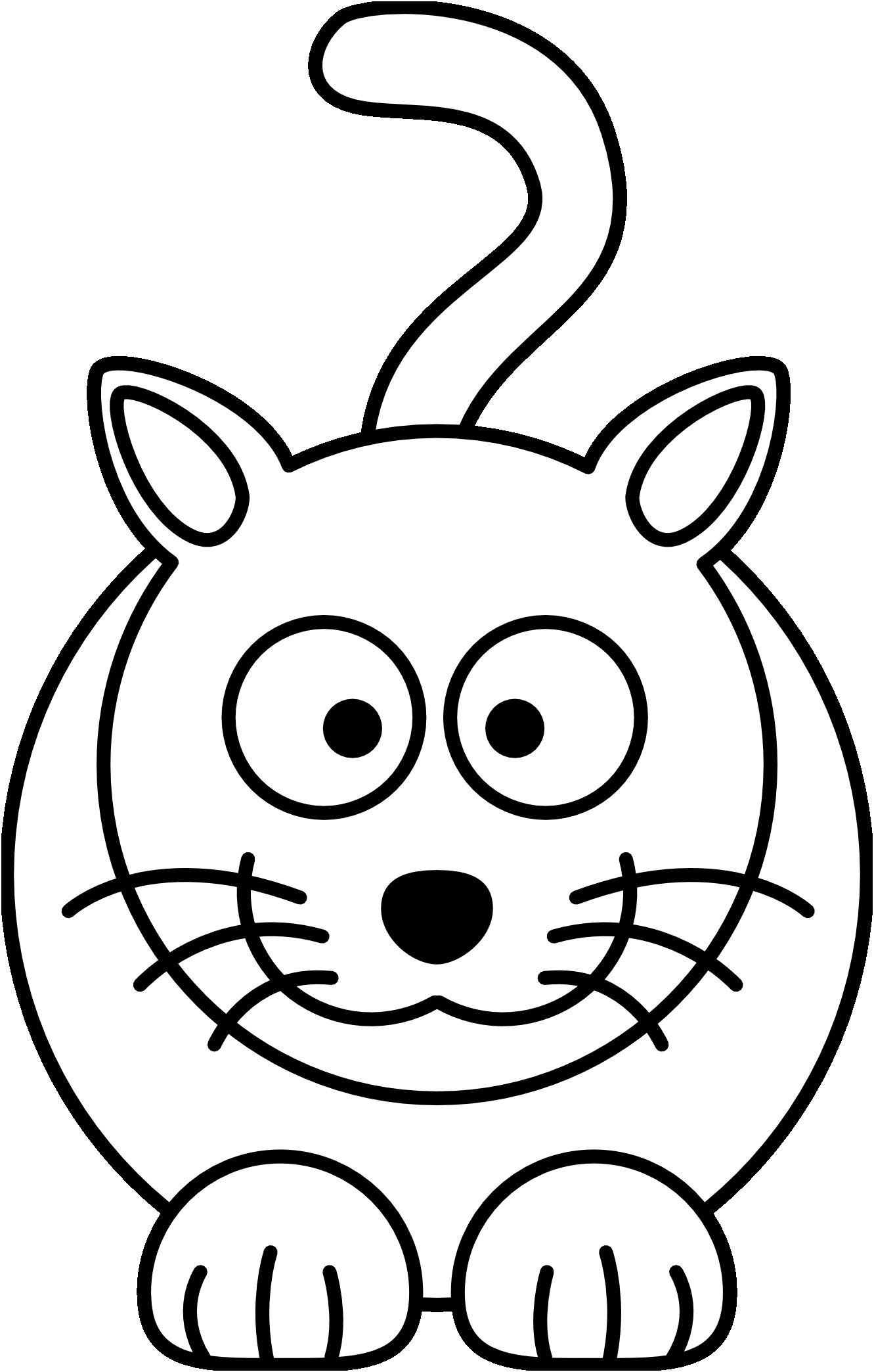 Coloriage Chat A Imprimer . 8 Plus Récent Coloriage Chat A