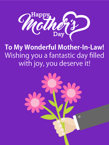 Pink flowers happy mothers day card for mother in law pink flowers pink flowers happy mothers day card for mother in law pink flowers happy mothers day card for mother in law if you are a son in law looking for a great m4hsunfo