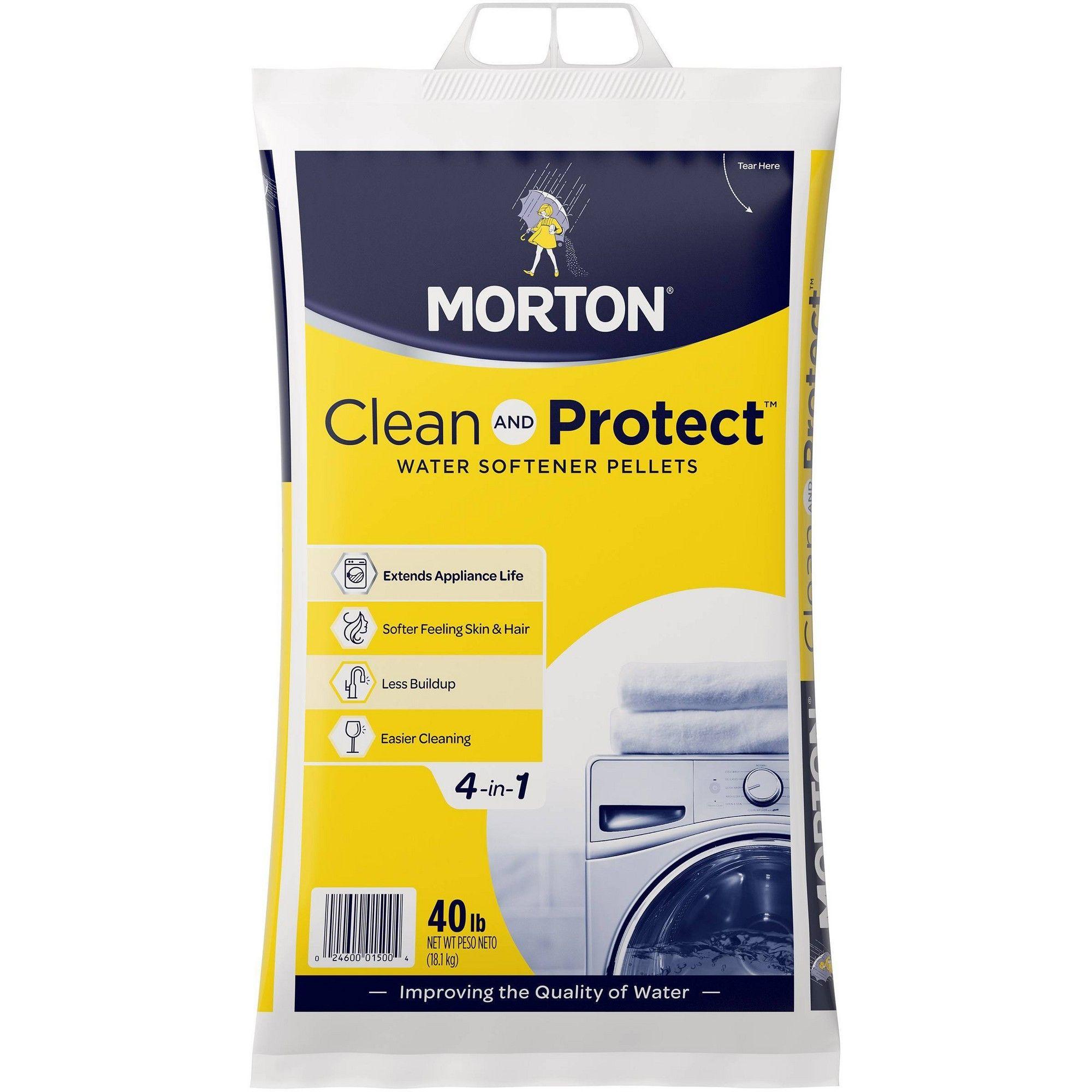 Morton Water Softener Pellets 40lbs In 2019 Cleaning Morton Salt