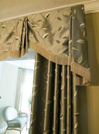 Elegant Drapery Window Treatments Custom Window Treatments