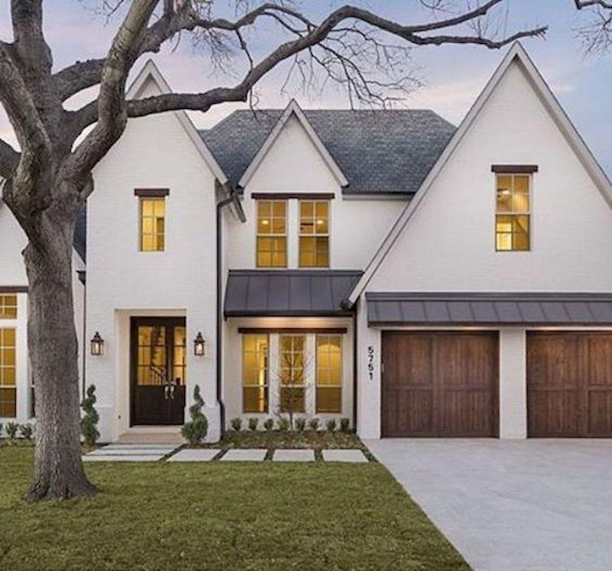 Modern Home Exterior Design Ideas 2017: 33 Best Modern Farmhouse Exterior House Plans Design Ideas