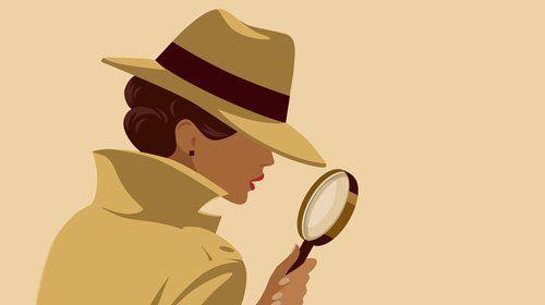 female detective | Female detective, Detective aesthetic, Detective