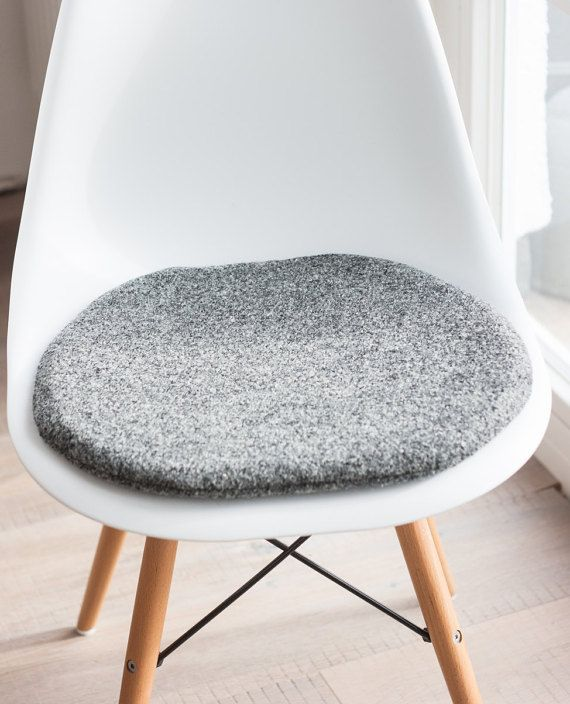Chair Cushions In Gray Suitable For Eames Chair Limited