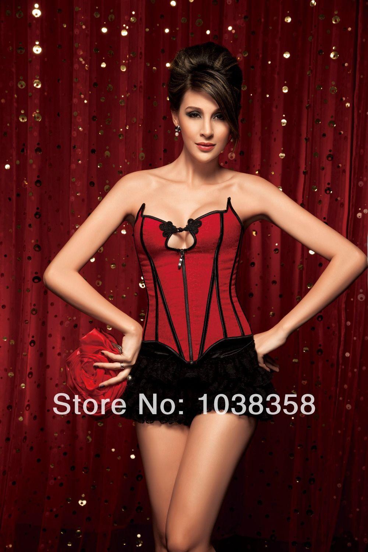 f8c15b0c1 Aliexpress.com  Compre Corset vestidos de mulheres cropped tops bustier  lingerie cintura shaper red chiners cupless espartilho osso de aço de  confiança ...