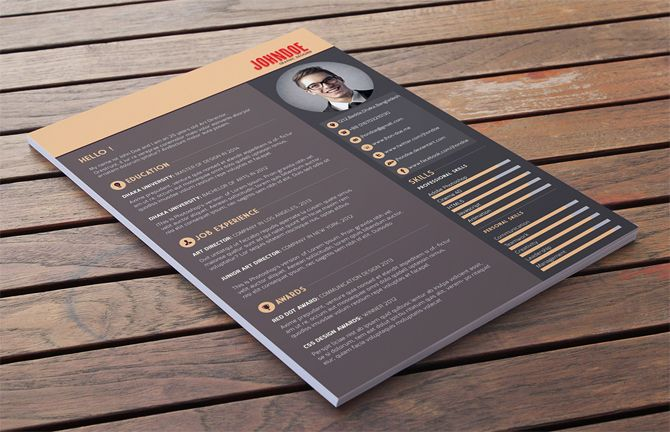 40 Free Printable Resume Templates 2018 to Get a Dream Job Free