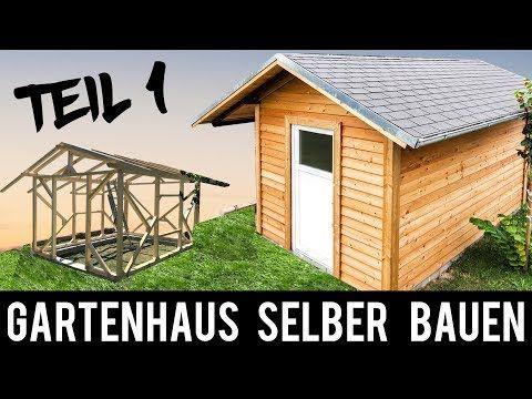 (1/4) 🔥 Gartenhaus 🔥 SELBER BAUEN ANLEITUNG Schritt für