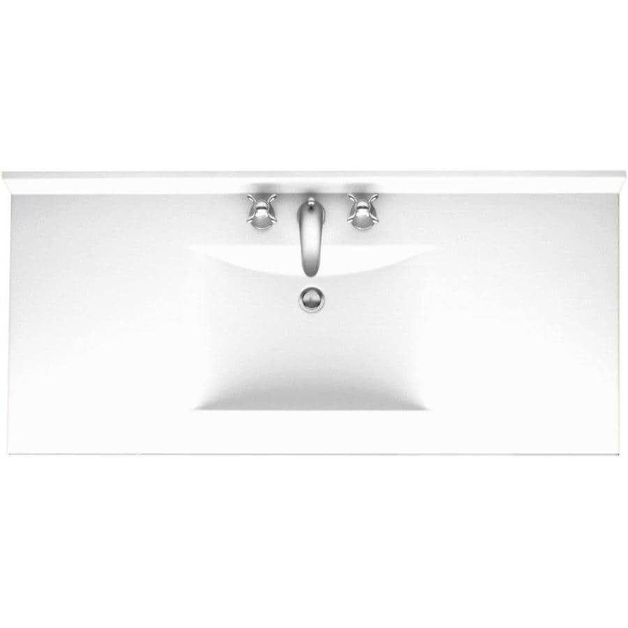 45+ 43 vanity top with sink custom