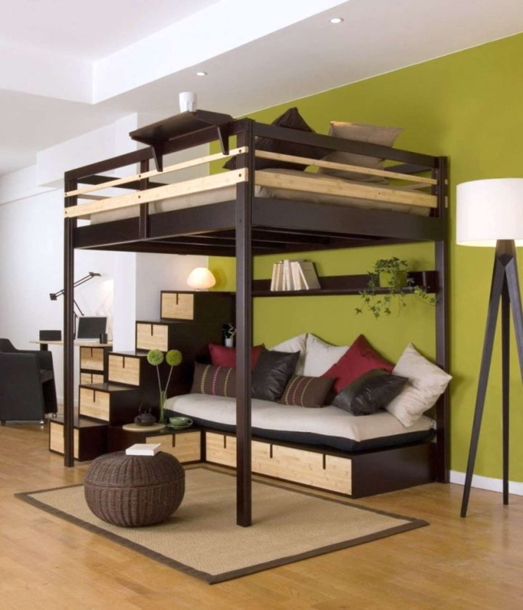 Super Cool Beds super cool loft beds for grownups | d.c. neighborhoods | pinterest