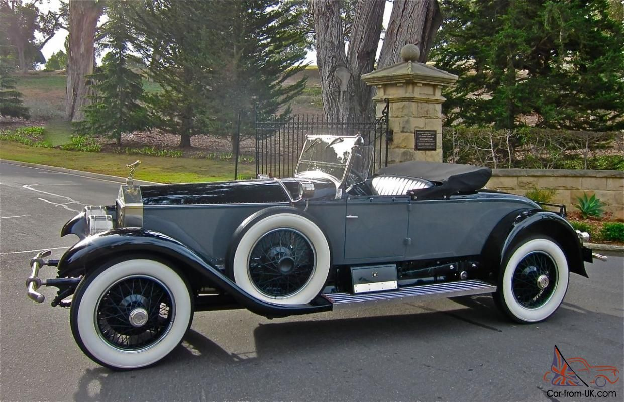 1926 RollsRoyce Silver Ghost Piccadilly Roadster Rolls