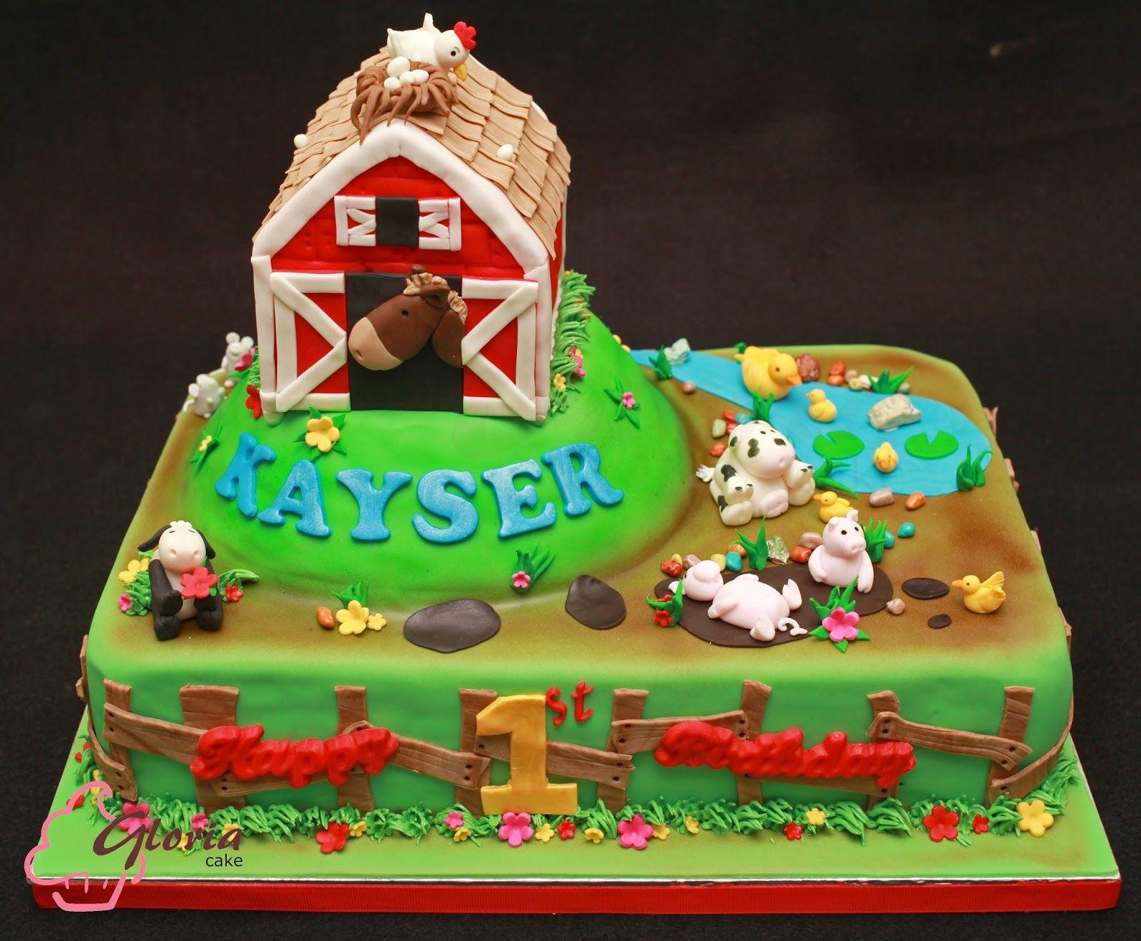 Old Macdonald Had A Farm Cake