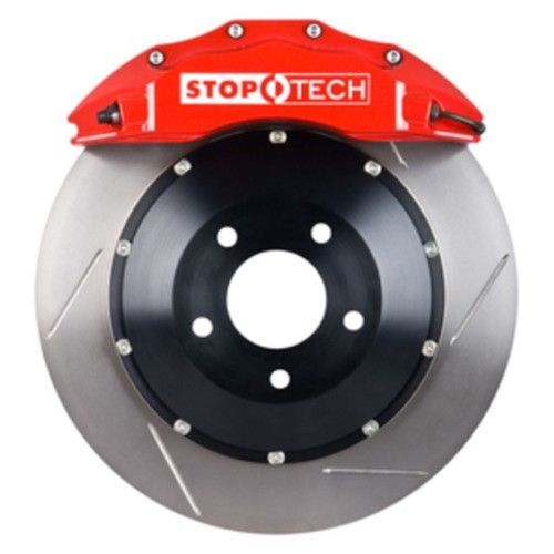 StopTech 83.114.6800.71 StopTech Big Brake Kit; Red