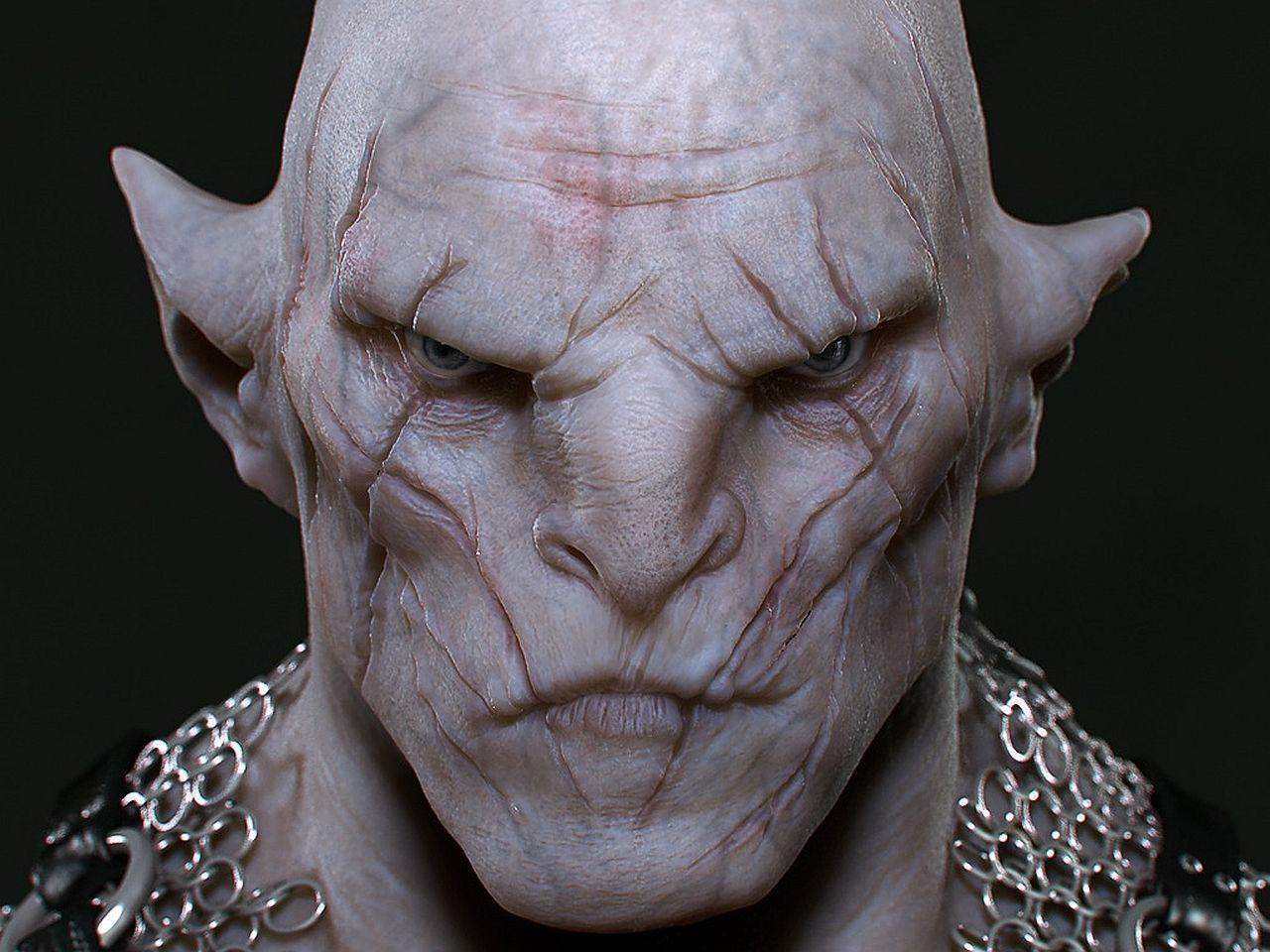the hobbitOrc Leader Hobbit