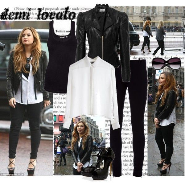demi lovato style 2014 | fashion look from April 2012 featuring Alice by Temperley jackets ...