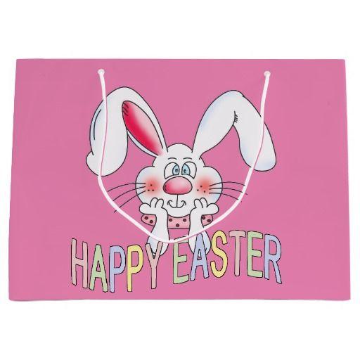 Easter bunny holiday large gift bag easter giftshousehold decor easter bunny holiday large gift bag negle Choice Image