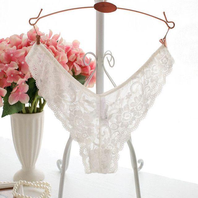 fdf2b518ce68 Plus size 4XL XXXL XXL XL l M Sexy Women Briefs Panties Lace Underwear  Woman Big size Lingerie Transparent Thongs Tanga String
