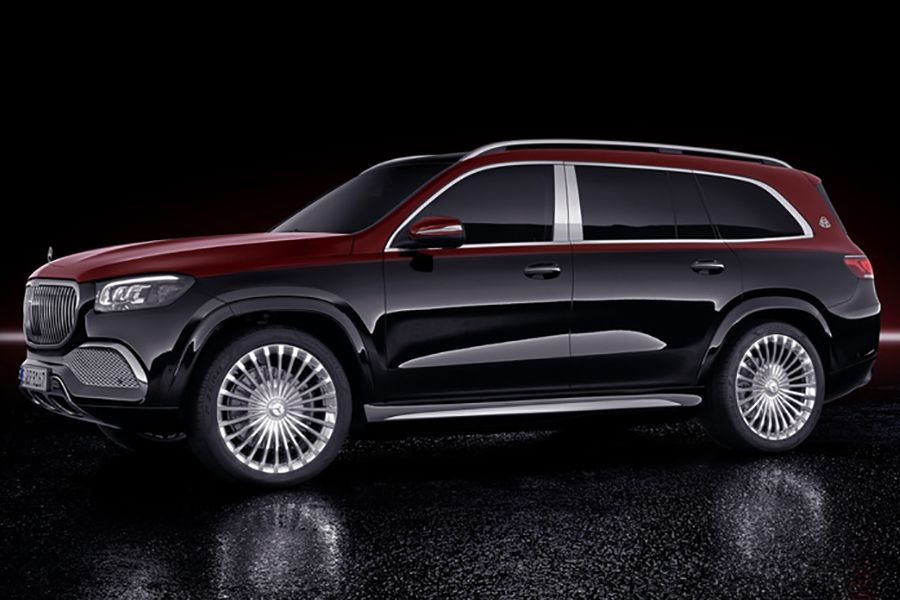 Mercedes Benz Enters The Luxury Suv Class With Maybach Suv