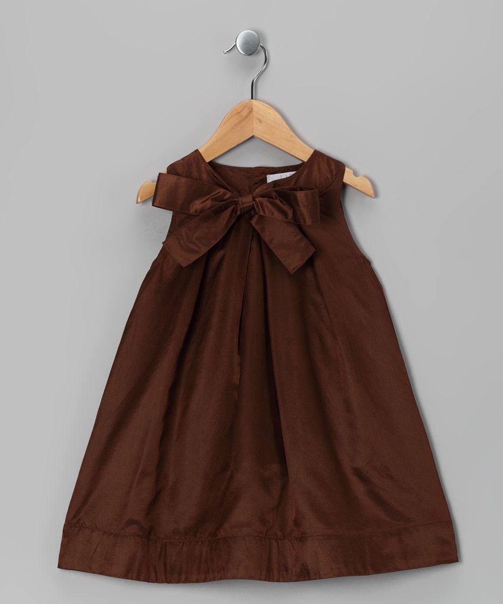 Liho brown becca dress toddler u girls one day dream dressing