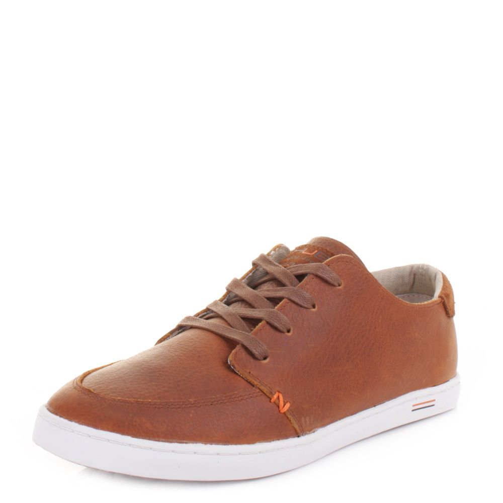 Boxfresh Tan Trainers With White Sole Mens Fashion Cat