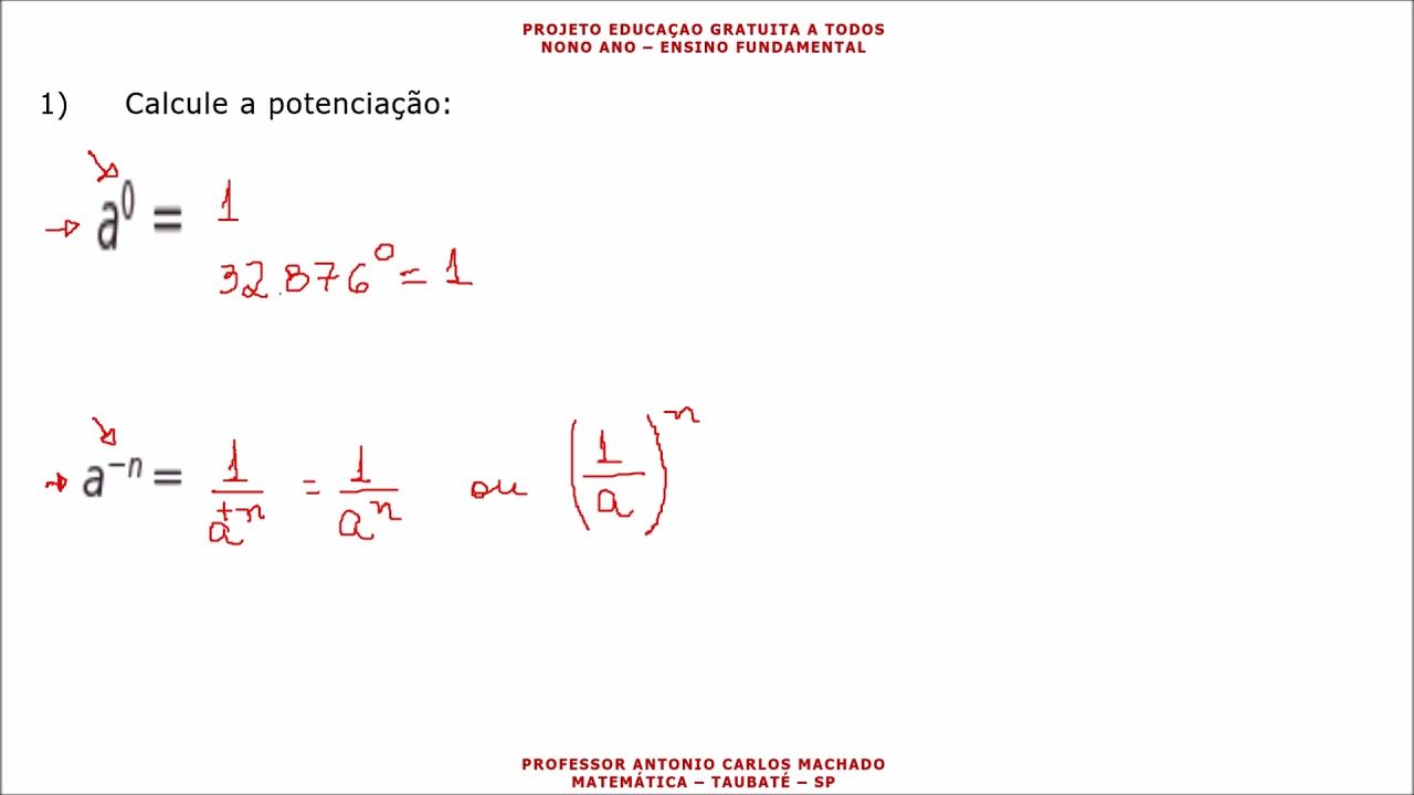 Pin Em Nono Ano Matematica Ensino Fundamental