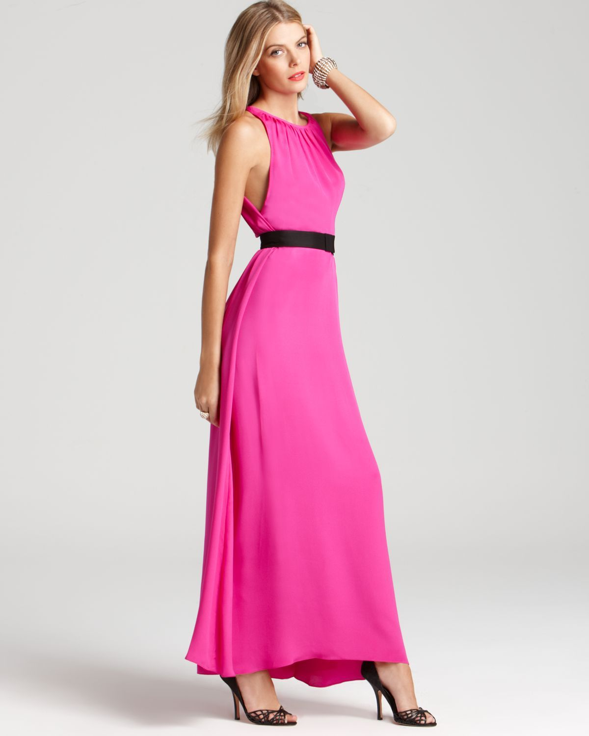 i wish my life called for hot pink backless gowns!!! | Dresses ...