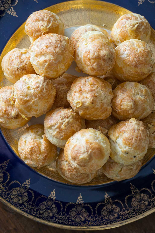 Watch Party Gougères Recipe Gougeres recipe, Recipes
